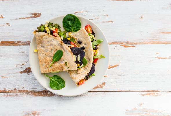 Vegetarian Quesadilla Images - Photos - Logo
