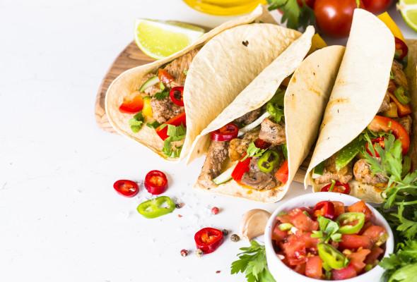 Pork Taco (250g) - Images, Photos, Logo