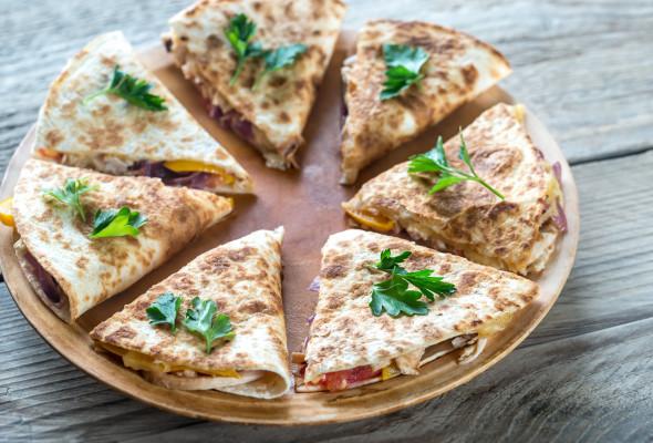 Quesadilla with Pork Images - Photos - Logo