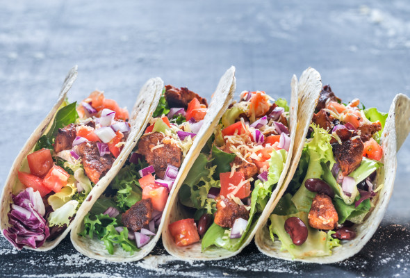 Tacos Veggie (250g) Images - Photos - Logo