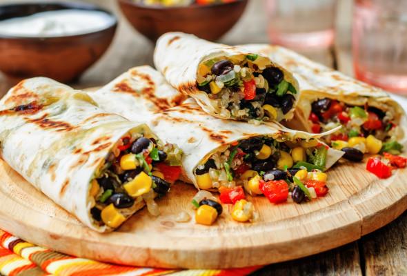 Burrito Veggie Images - Photos - Logo