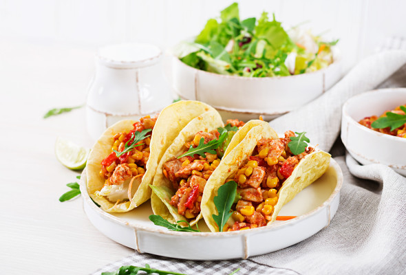 Chicken Taco (250g) - Images, Photos, Logo